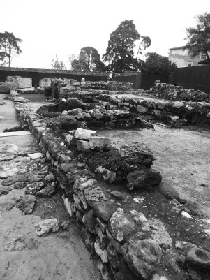 Some of the old remains from around 600 BC.
