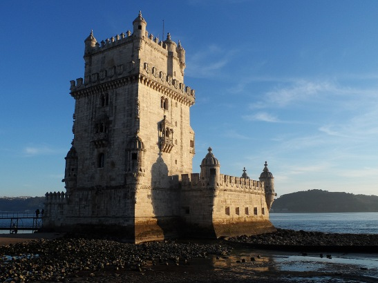 The Belem Tower was built in the early 16th century, both as a maritime fortification, and also as a ceremonial gateway to Lisbon during the Age of Discoveries.