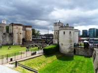 Tower of London - former stronghold for defense of the city