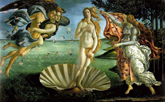 """The Birth of Venus"""