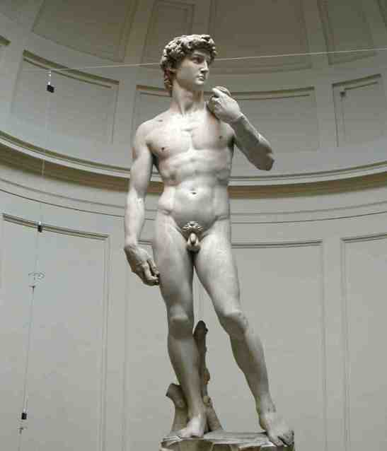 """Michelangelo's """"David"""" - This was just astounding to see in person. It is absolutely flawless and magnificent."""