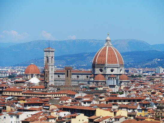 What a great view of the Duomo!