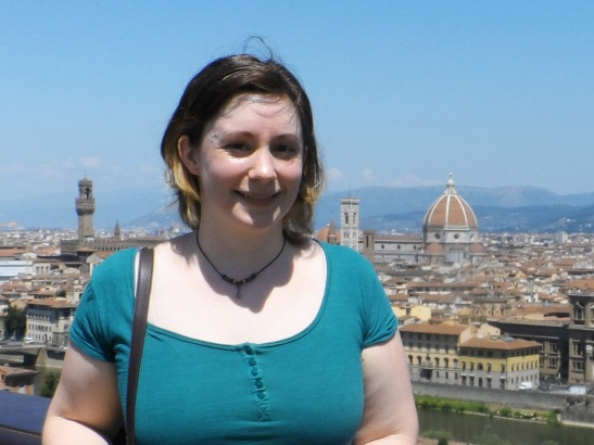 Me with the Duomo in the background.