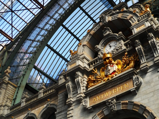 Antwerp Train Station - opened in 1905