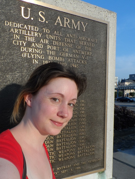 It's nice to know there's a plaque an ocean away honoring my grandfather and the others that fought in WWII.